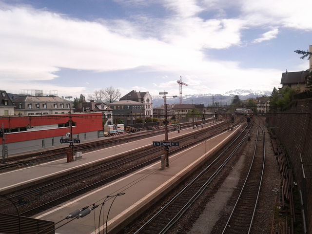 View from Thalwil train station
